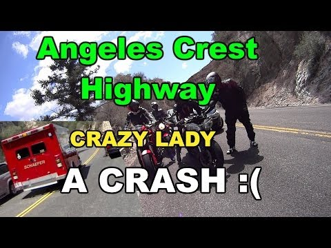 ACH - A Motorcycle Crash and a Crazy Lady.