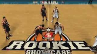 NBA 2K16 - My Career - The Rookie Showcase (Xbox360) Walkthrough / Gameplay