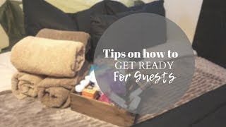 PREPARING FOR OVERNIGHT GUESTS | DOLLAR TREE GIFT BASKET | GUEST ROOM IDEAS