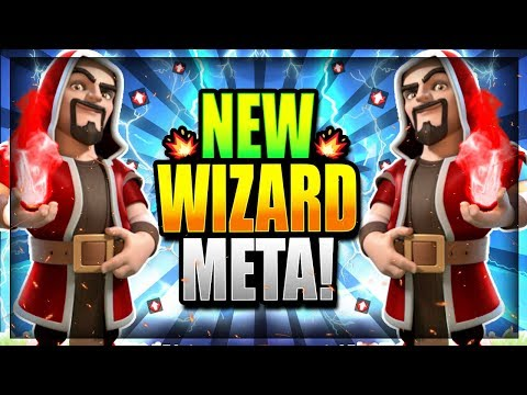 WIZARD BUFF is INSANE!! UNSTOPPABLE WIZARD DECK!! Clash Royale Wizard Arena 12