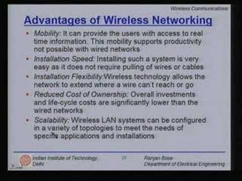 Lecture - 37 Wireless Networks