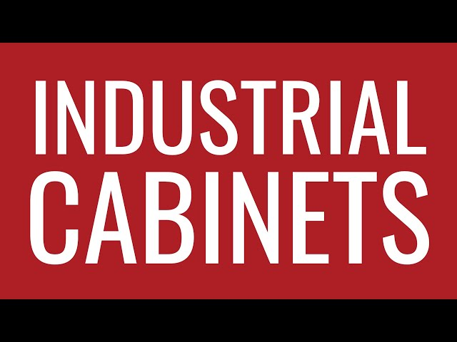 Industrial Cabinets | Strong Hold