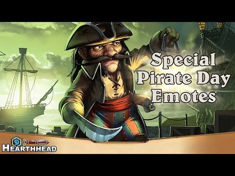 Special Pirate Day Emotes Coming to Hearthstone