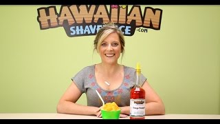 Orange Pineapple Shaved Ice And Snow Cone Syrup
