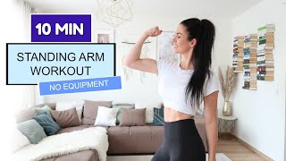 10 MIN STANDING ARM WORKOUT / no equipment I Bella