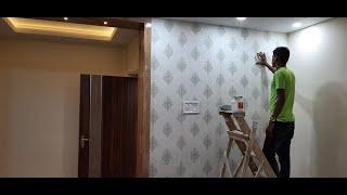 Wallpaper Design for Bedroom  2020 | Wallpaper Installation With Price Details 2020