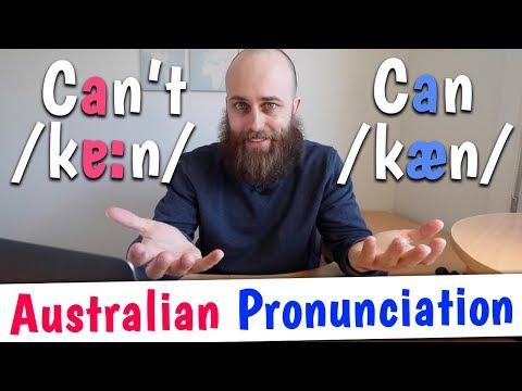 CAN vs CAN'T | Australian Pronunciation & Accent Training