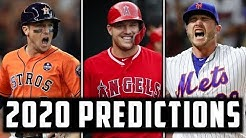 WAY TOO EARLY 2020 MLB SEASON PREDICTIONS