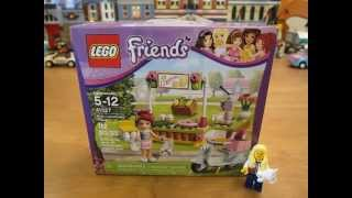 Lego Friend's Set 41027 Mia's Lemonade Stand Unboxing!!!!