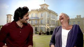 VICTORIA AND ABDUL interviews - Dame Judi Dench and Ali Fazal