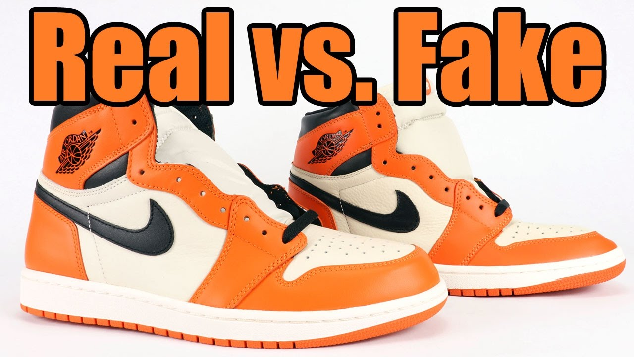 coupon code new styles united states Real vs Fake Air Jordan 1 Reverse Shattered Backboard Away Legit Check