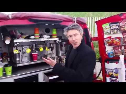 Game of Thrones Actor Aidan Gillen Making the Coffee with Mr Hobbs Coffee