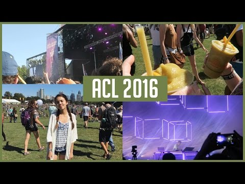ACL 2016 Vlog! {Flume, Radiohead, and Expensive Smoothies!}