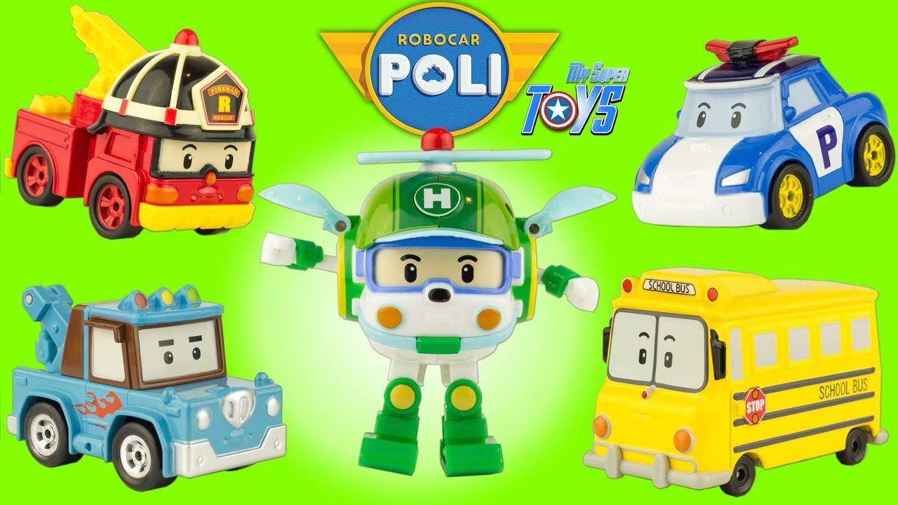 Juegos Juguetes Transformer Poli Robocar Juguete 0k8npwo Y O0nkwP