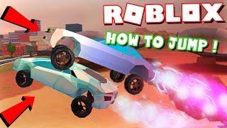 *EPIC* THE HIGHEST ROCKET FUEL CAR JUMP IN ROBLOX JAILBREAK! (ft. DefildPlays)