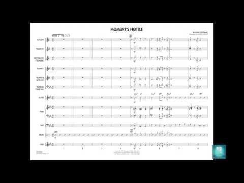 Moment's Notice By John Coltrane/arr. Mark Taylor