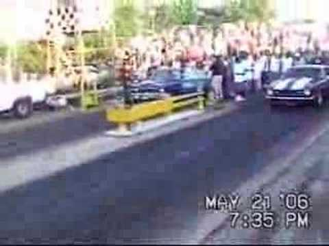 Yellow Belly Dragstrip Crash KID CRASH
