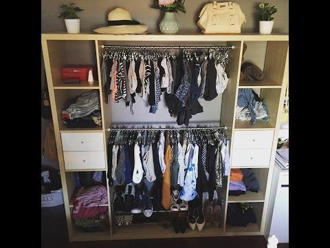 IKEA HACKERS Kallax Closet