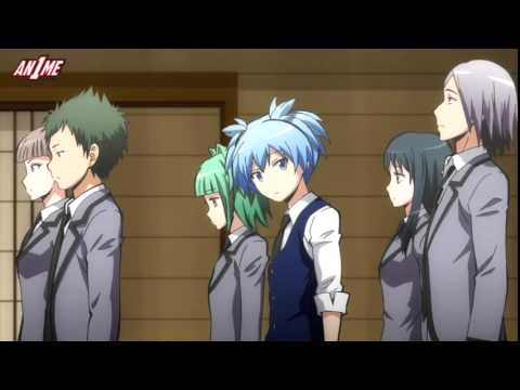 Assassination Classroom - going to the main campus