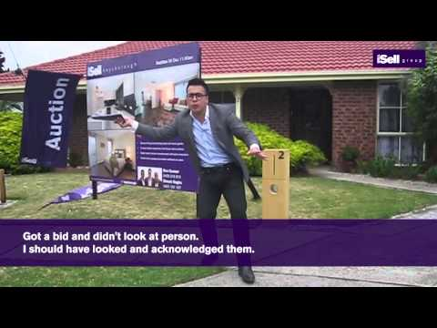 """Live Auction Tutorial"" - Michael Choi - Melbourne Real Estate Training"