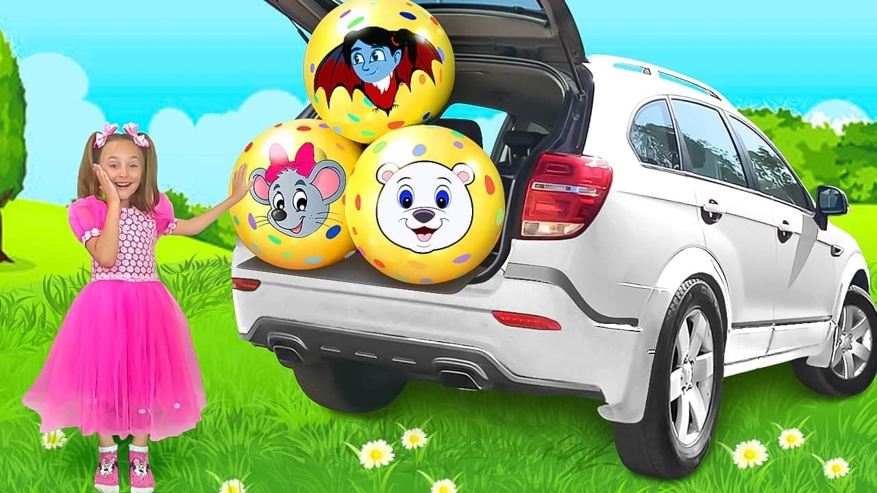 サーシャと卵の驚きと新しいおもちゃに関する面白いシリーズの編集