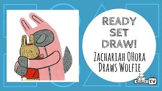 Ready Set Draw! | How to Draw the Wolfie from WOLFIE THE BUNNY