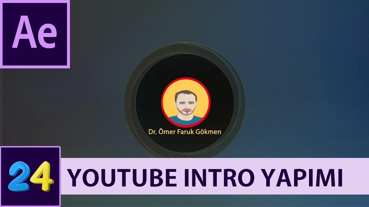 Ders 24 - Youtube Kanalları İçin Intro Yapımı (Template Düzenleme)   After Effects Dersleri