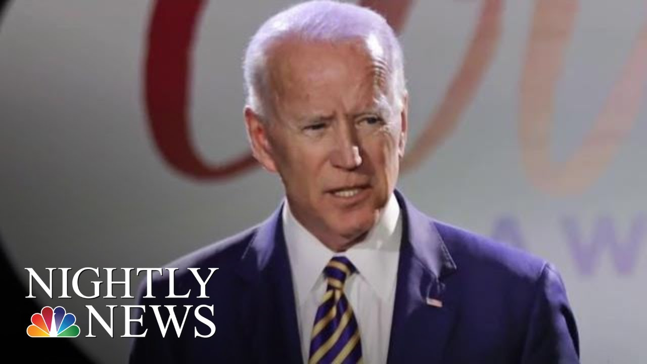 Joe Biden Fires Back After President Donald Trump Tweets Video Mocking Him | NBC Nightly News
