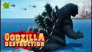 Godzilla Destruction - Android Gameplay FHD