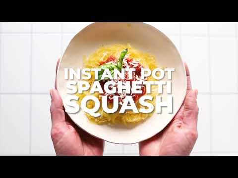 Instant Pot Spaghetti Squash for Incredible Paleo Pasta!