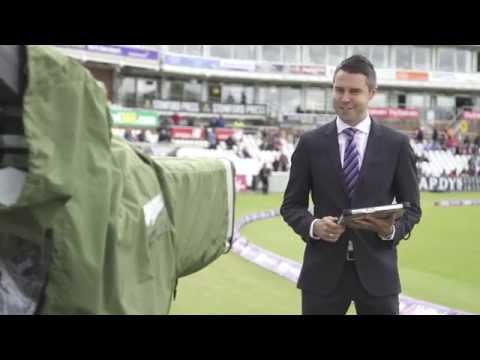 Television sports presenter and Panasonic Toughpad prove perfect broadcast partners