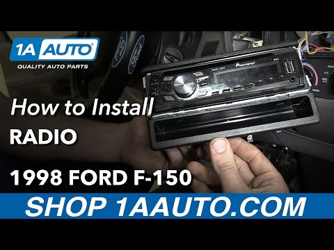 How to Replace Radio 97-04 Ford F-150