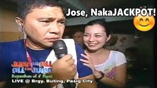 Jose At Ang Makinis Na Dalagita! - Eat Bulaga Throwback | Juan For All - Sugod Bahay