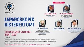 JED WEBİNAR LAPAROSKOPİK HİSTEREKTOMİ