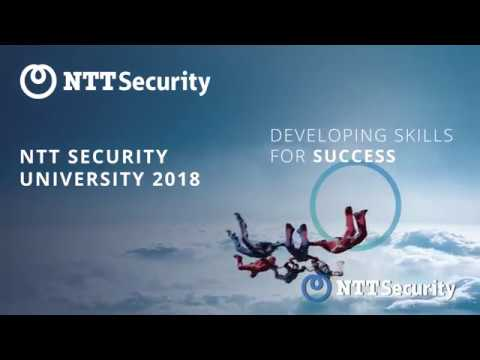 NTT Security EMEA University 2018