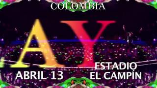 Coldplay - A Head Full Of Dreams Tour | Coldplay Colombia