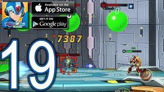 MEGAMAN X DiVE Mobile iOS Android Walkthrough - Part 19 - Jakob Orbital Elevator (Challenge)