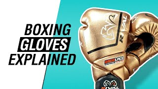 Boxing Gloves Explained - Fight Gear Guide