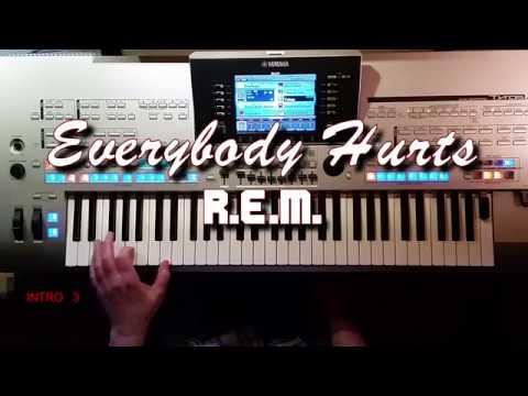 Everybody Hurts - R.E.M., Cover, Eingespielt mit Titelbezogenem Style auf Tyros 4