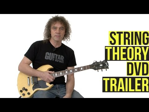 String Theory - Jazz Harmony for Rock Guitar - DVD Trailer