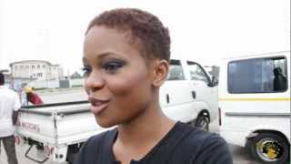EGO FIX TV: Behind the scenes for Zainab Balogun