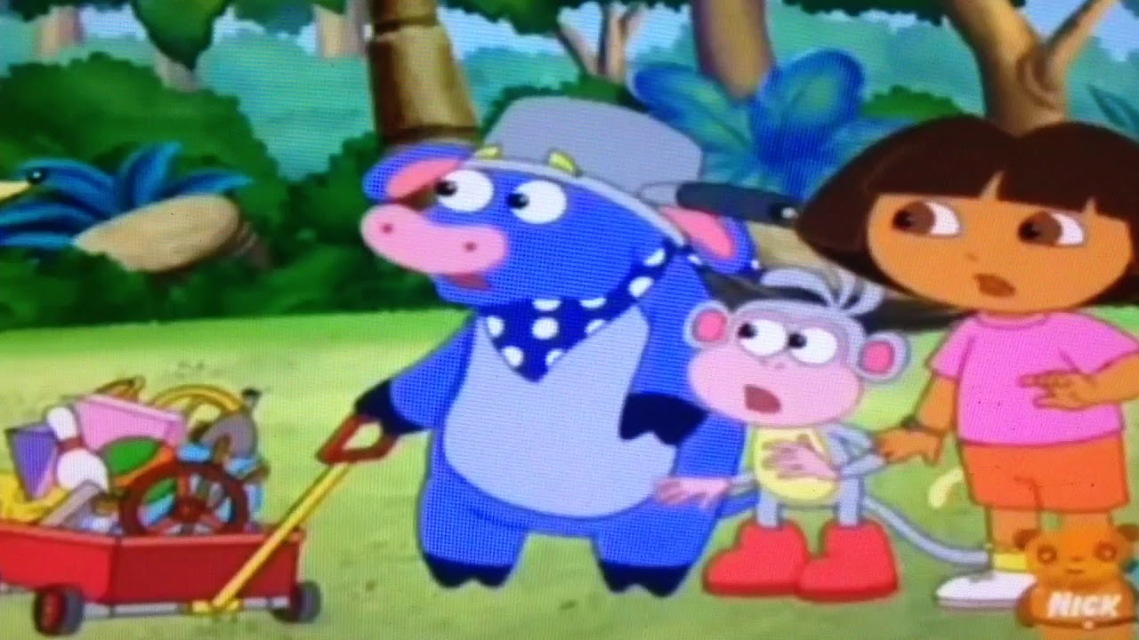 Dora the explorer Swiper no Swiping from Benny's treasure