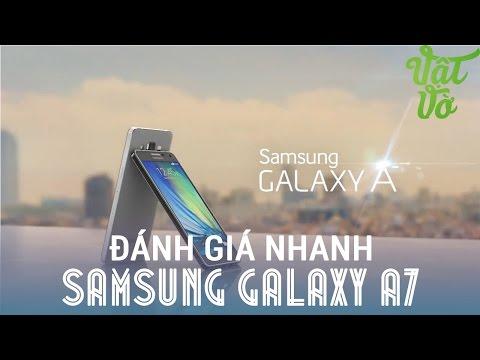 [Review dạo] Đánh giá nhanh Samsung Galaxy A7 - phiên bản kim loại của E7 với giá cao hơn