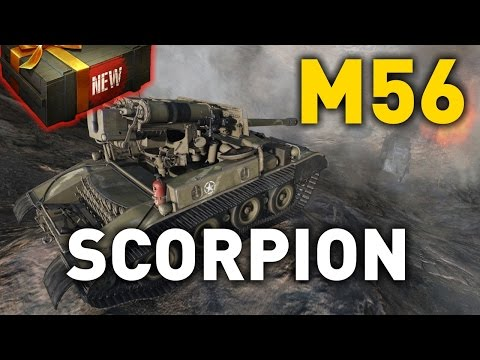 World of Tanks || M56 Scorpion - Tank Review