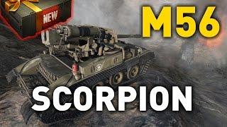 World of Tanks || M56 Scorpion - Tank Review