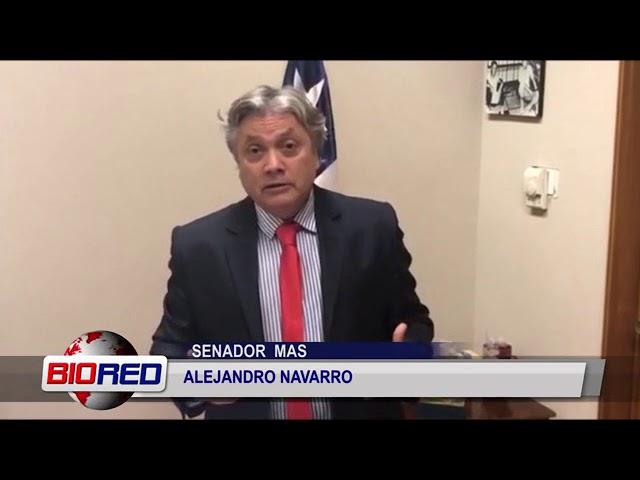 Senador Navarro critica retiro del Plan de Descontaminación