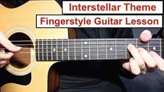 Baixar Interstellar (Hans Zimmer) | Fingerstyle Guitar Lesson (Tutorial) How to play Fingerstyle