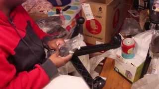 Setting Up Staples® Turcotte Luxura® High Back Executive Chair, Black _ Model 23094
