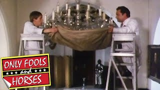 Del and Rodney Smash The Antique Chandelier | Only Fools and Horses | BBC Comedy Greats