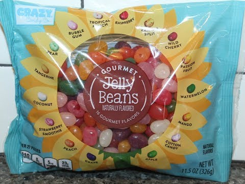 Crazy Candy Co. Gourmet Jelly Beans – 16 Flavors Review